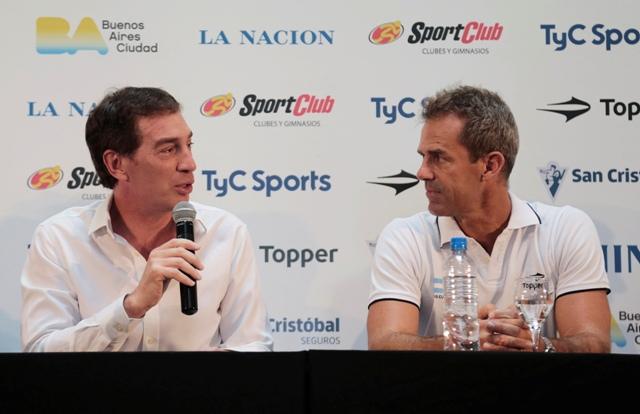 Santilli - Presentación Copa Davis