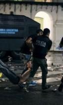 Policías represión